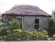 Batanes Stone House on Batan Island