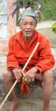 Igorot Man at Banaue Rice Terraces