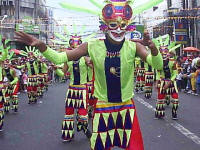 Masskara Festival in Bacolod, Negros Occidental